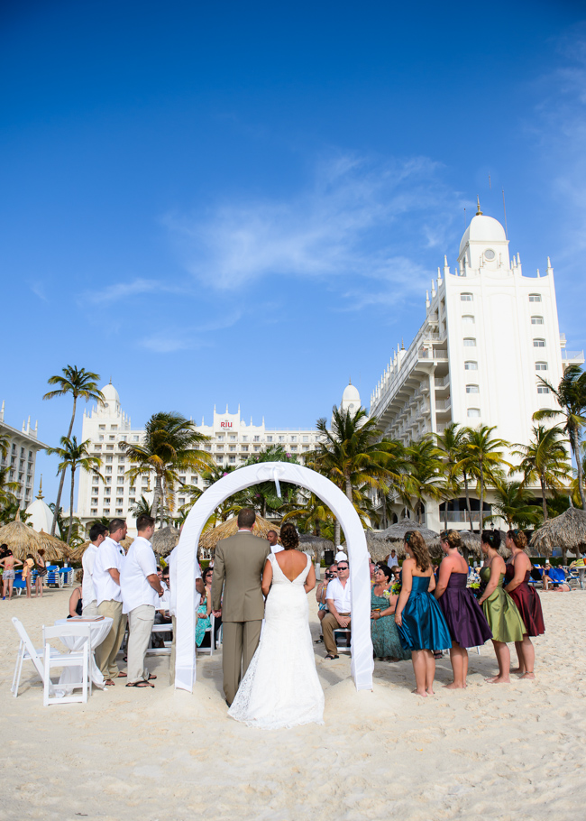 Andrea Riu Palace Aruba Wedding 0020