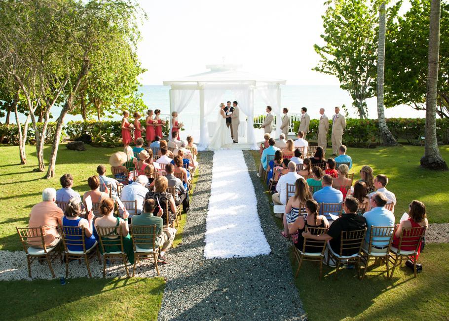 wedding gazebo at dreams resort la romana