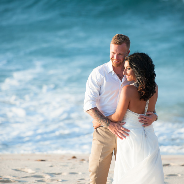 aruba trash the dress photography