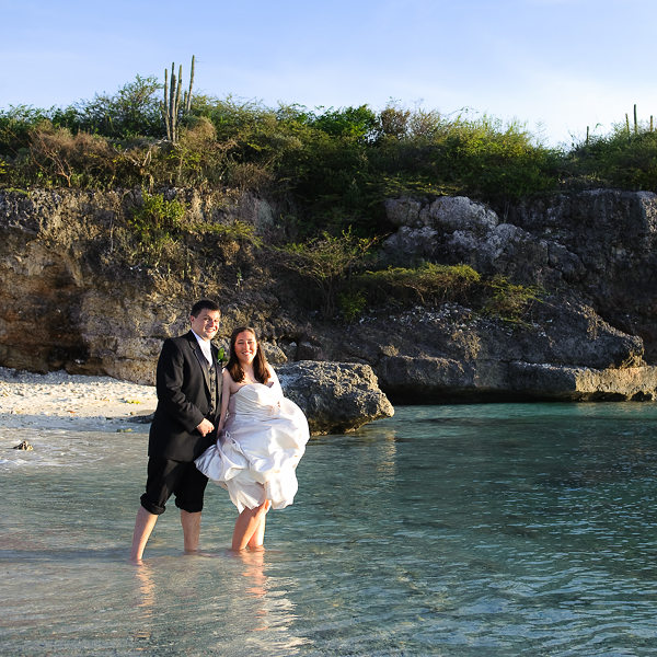 destination wedding in curacao caribbean