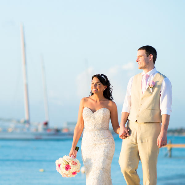 hilton aruba wedding vows and reception