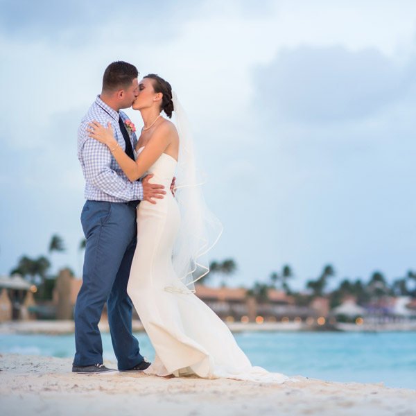 destination wedding on the beach
