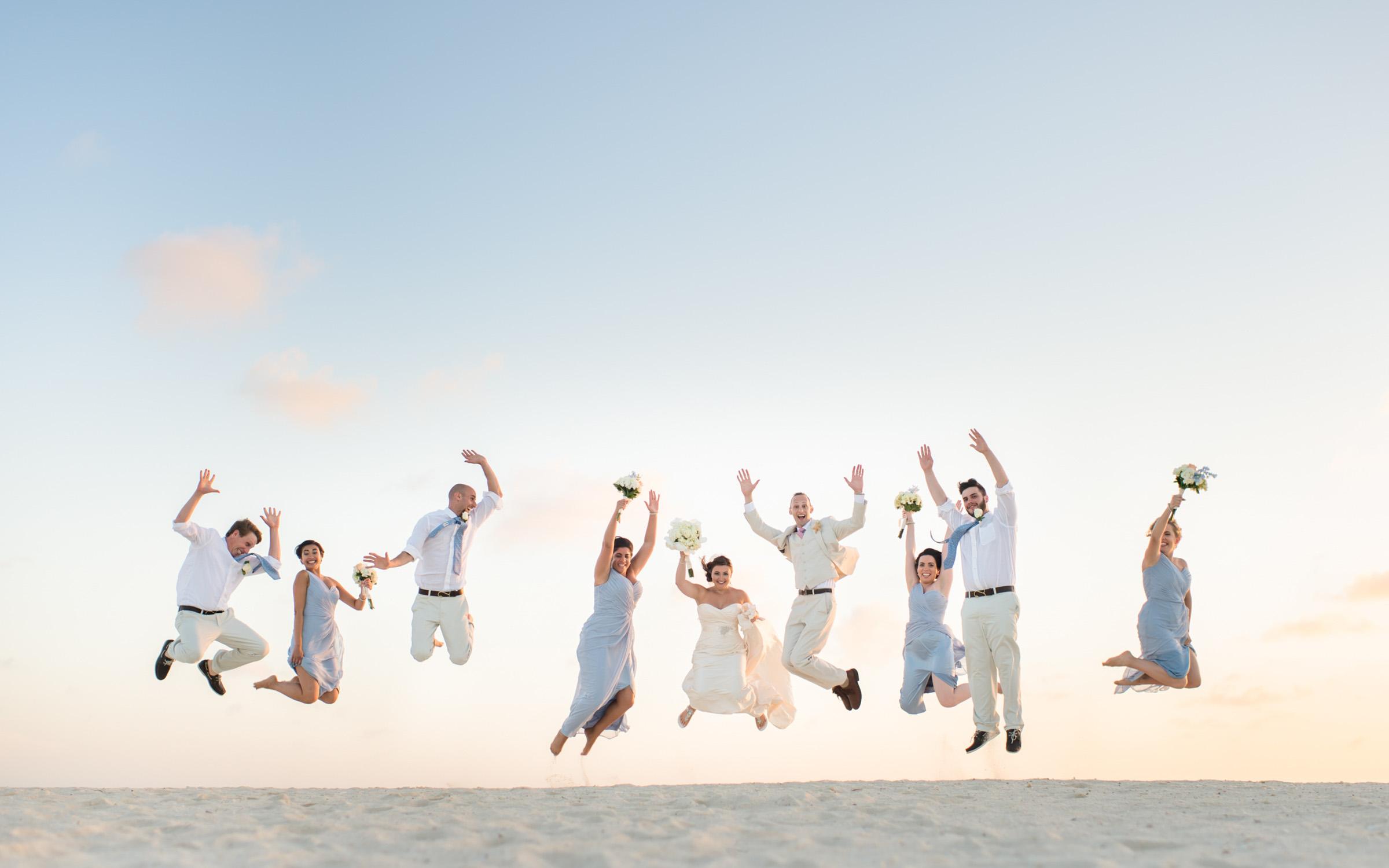 jump bridal party