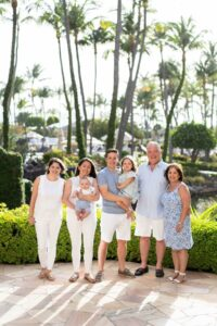 hyatt aruba family photo