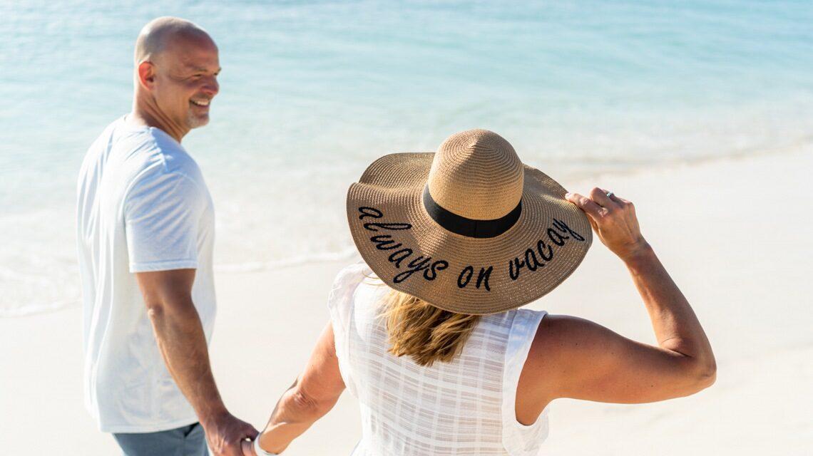 always on vacation beach